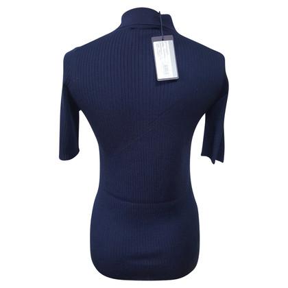 Prada Strick-Shirt in Blau