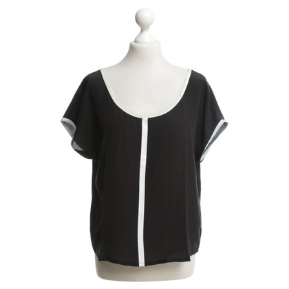Armani Silk top in black