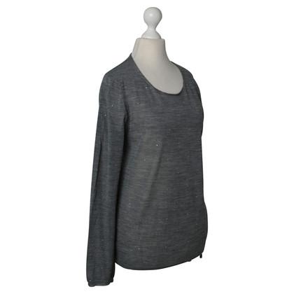 Comme des Garçons Grey jumper with Rhinestones