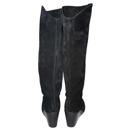 Michael Kors stivali di camoscio