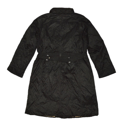Max Mara Black Down Cappotto