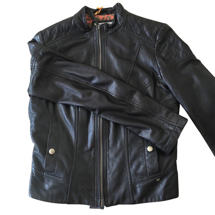 Boss Orange leather jacket