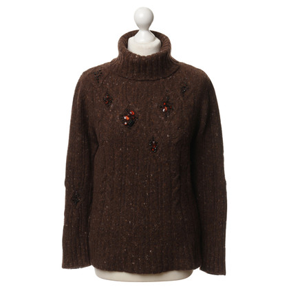 Luisa Cerano Sweaters with Rhinestones