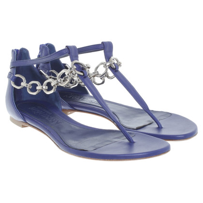 Alexander McQueen Sandals in blue