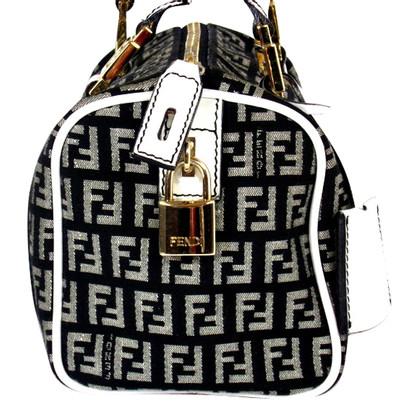 "Fendi ""Mini Bowling Bag"" with wallet"