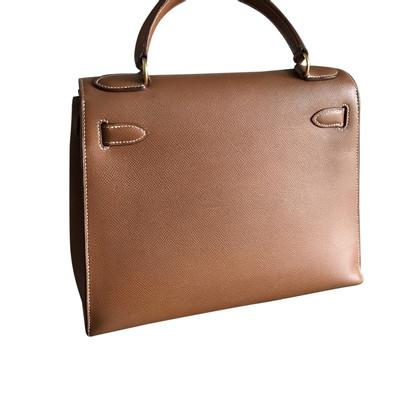 """Hermès """"Kelly Bag 28"""" van Epsomleder"""