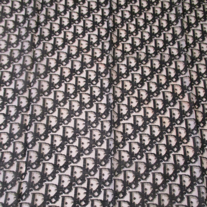 Christian Dior Logo sjaal vintage