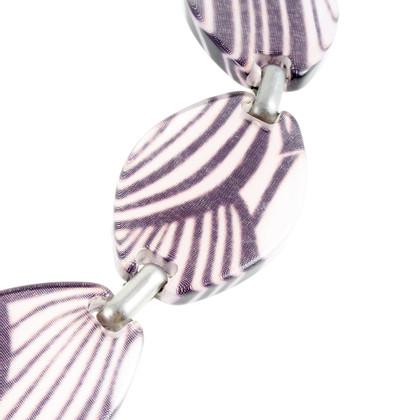 Sport Max Belt in purple tones