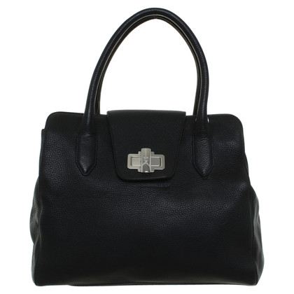 Navyboot  Handbag in Black