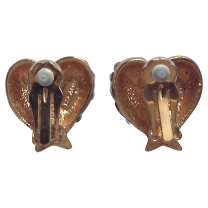 Escada clip Earrings