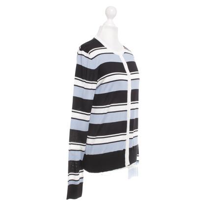 Dolce & Gabbana Gestreepte zijden trui
