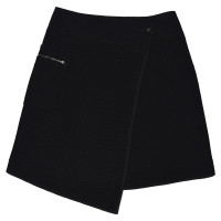 Marc Cain Wrap-around skirt made of wool/silk