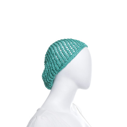 Missoni Baskische hoed in groen