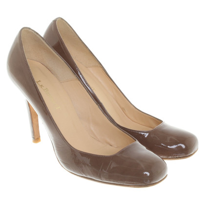 L.K. Bennett Patent leather pumps in brown