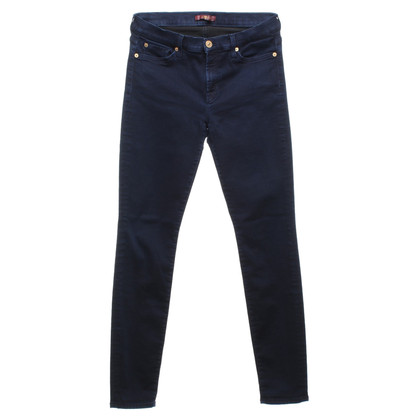 7 For All Mankind Skinny jeans in blu scuro