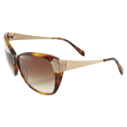 Oliver Peoples Zonnebril in Brown