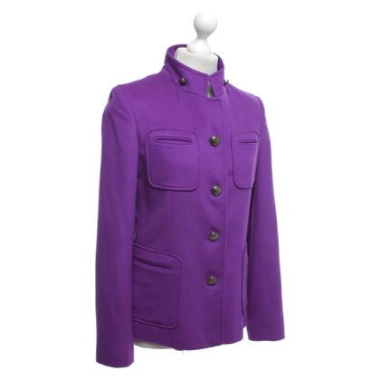 Steffen Schraut Short jacket in purple