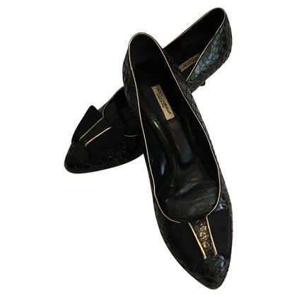 Dolce & Gabbana pumps reptile leather