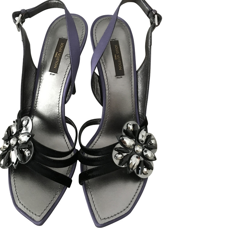 Louis Vuitton Sandals in Black - Second
