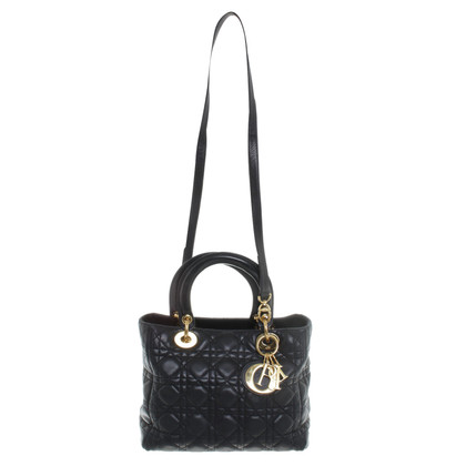 "Christian Dior ""Lady Dior"" in nero"