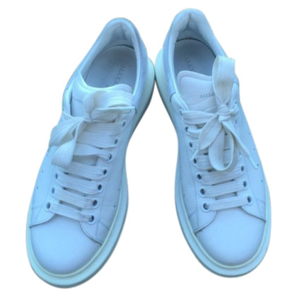 Alexander McQueen White Leather Sneaker