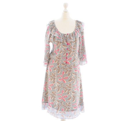 Cacharel Patterned silk dress