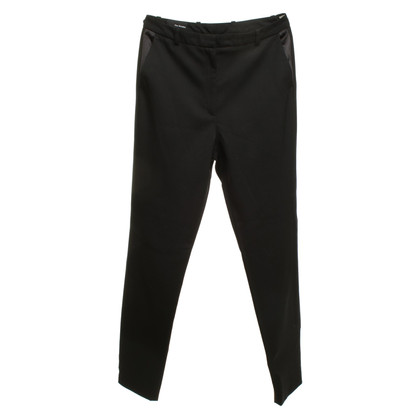 The Kooples Pantaloni a vita alta in nero
