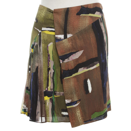 Balenciaga skirt with print