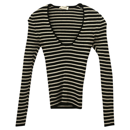 Saint Laurent Sweater with striped pattern