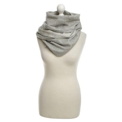 Brunello Cucinelli Cashmere Scarf in Grey
