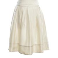 Costume National skirt in cream white