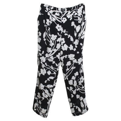 Hobbs trousers in black and white