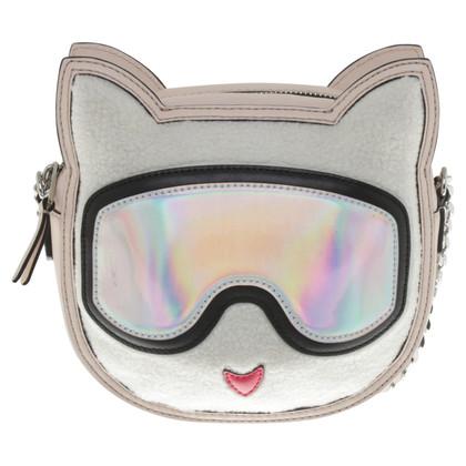 Karl Lagerfeld Shoulder bag in cat look