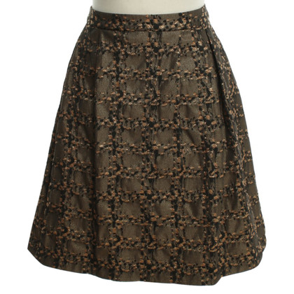 Stefanel Federal pleated skirt pattern