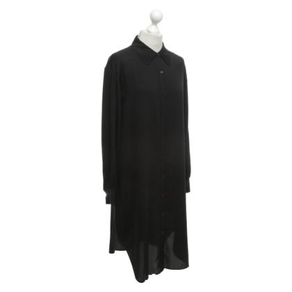 Diane von Furstenberg Seidenkleid in Schwarz