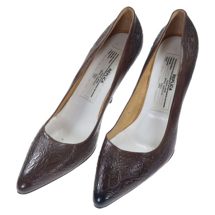 Maison Martin Margiela pumps in brown