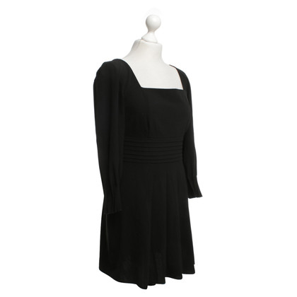 Sport Max Black dress with tuck