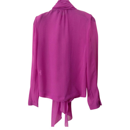 By Malene Birger Transparante blouse