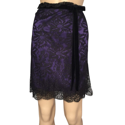 D&G Lace and satin skirt