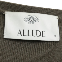 Allude Weste mit Strick/Fell