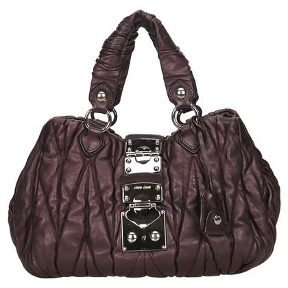 Miu Miu Miu Miu Leather Coffer