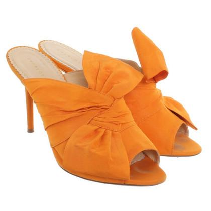 Charlotte Olympia Sandalen in oranje