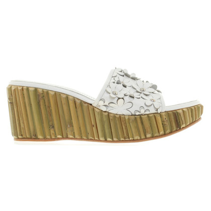 Sergio Rossi Wedges in white