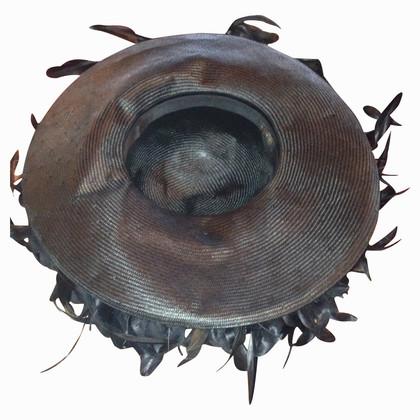 Borsalino Schwarzer Hut