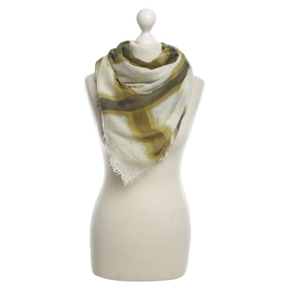 Burberry Scarf in shades of green