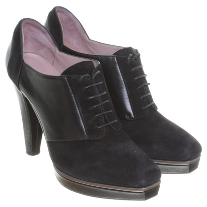 Hugo Boss Ankle Boots im Leder-Mix