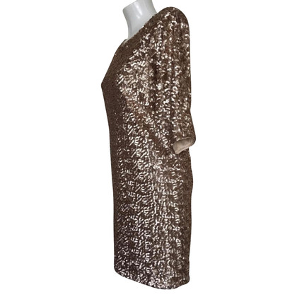 Rachel Zoe golden sequin dress
