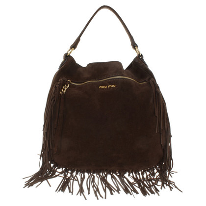 Miu Miu Handbag made of suede