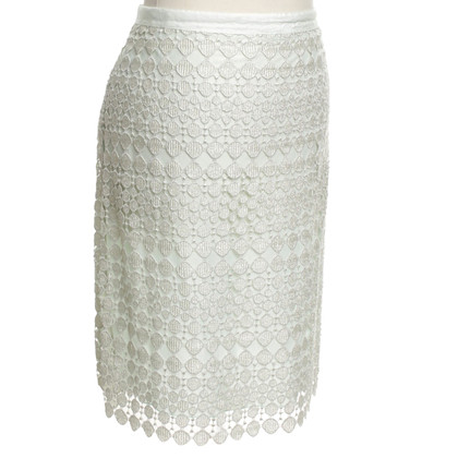 St. Emile Lace skirt in mint green