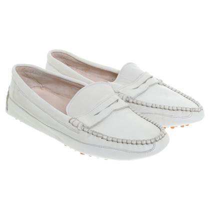 Jil Sander Loafer in Creme